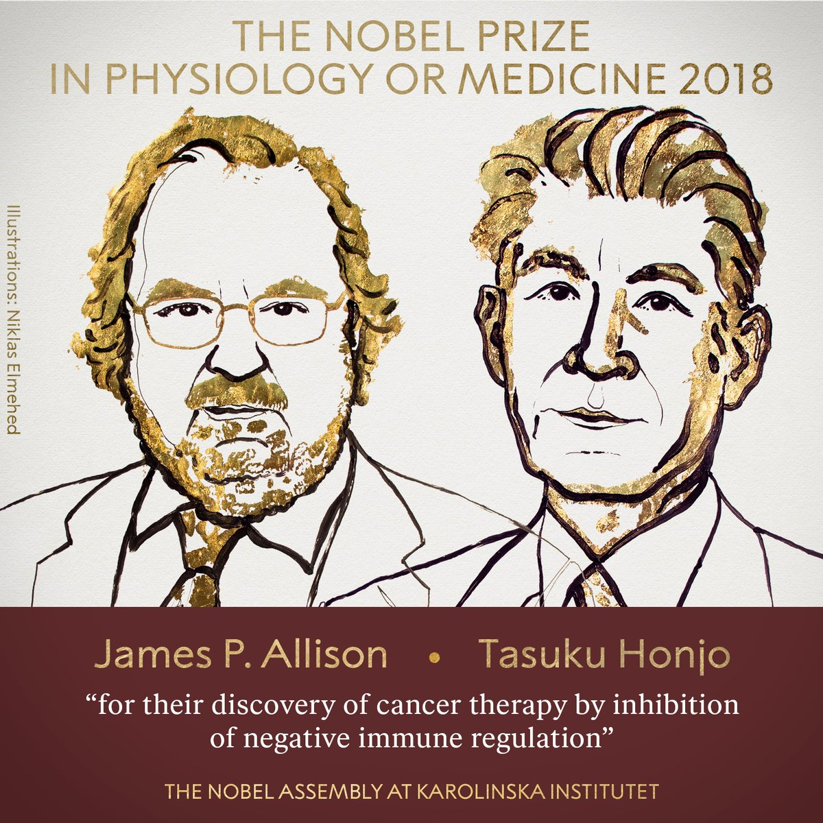 james allison tasuku honjo nobel prise